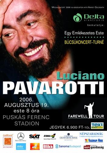 Pavarotti Plakát